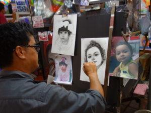 チェンマイで見た匠の技(タイ)