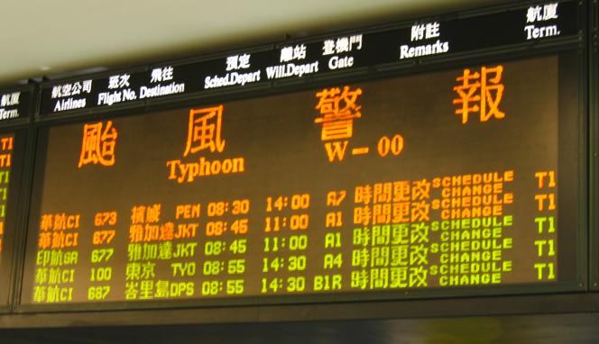 台風にも名前があった。トカゲが九州に接近!?