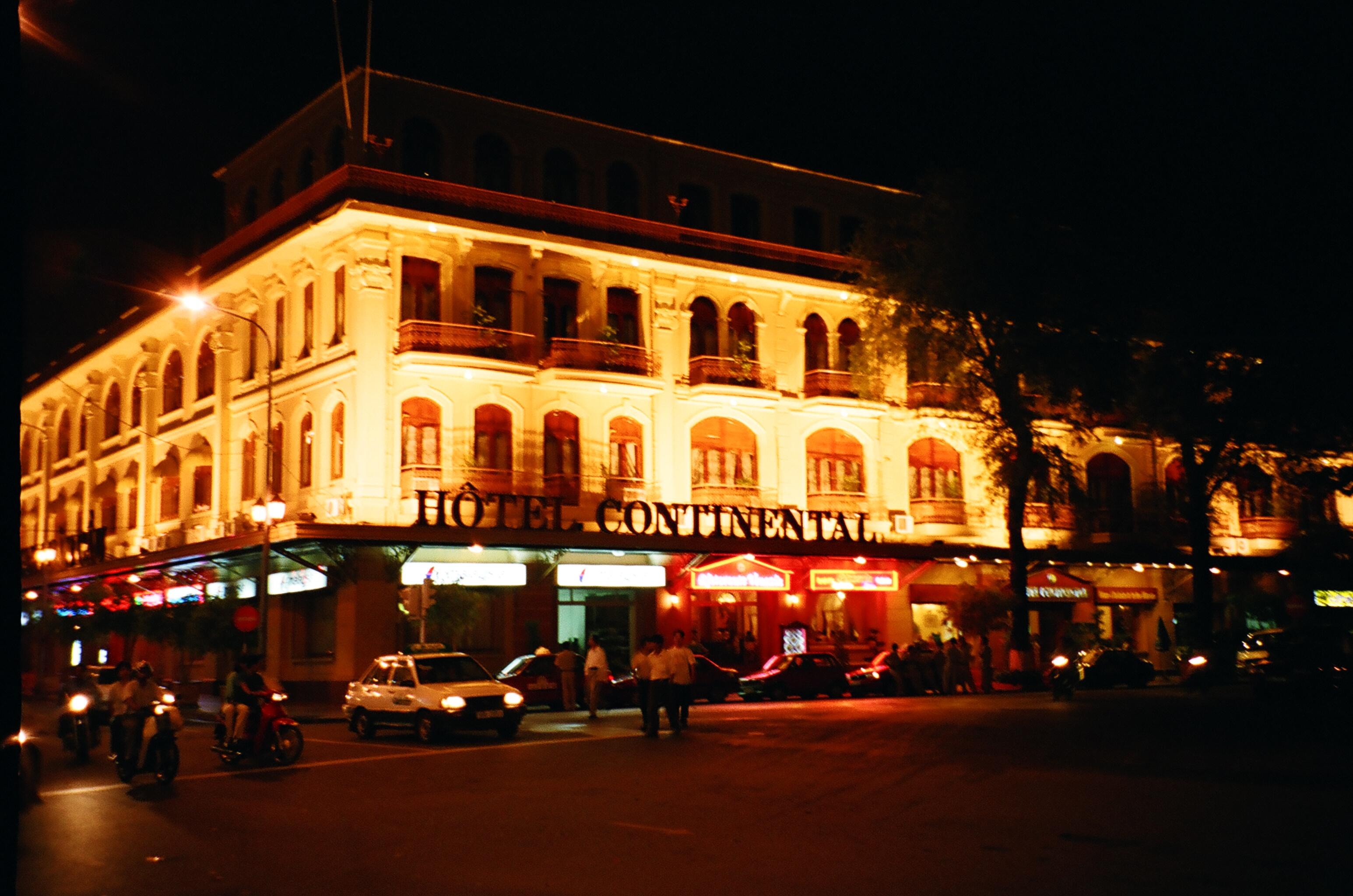 ホーチミンの老舗ホテル(ベトナム)