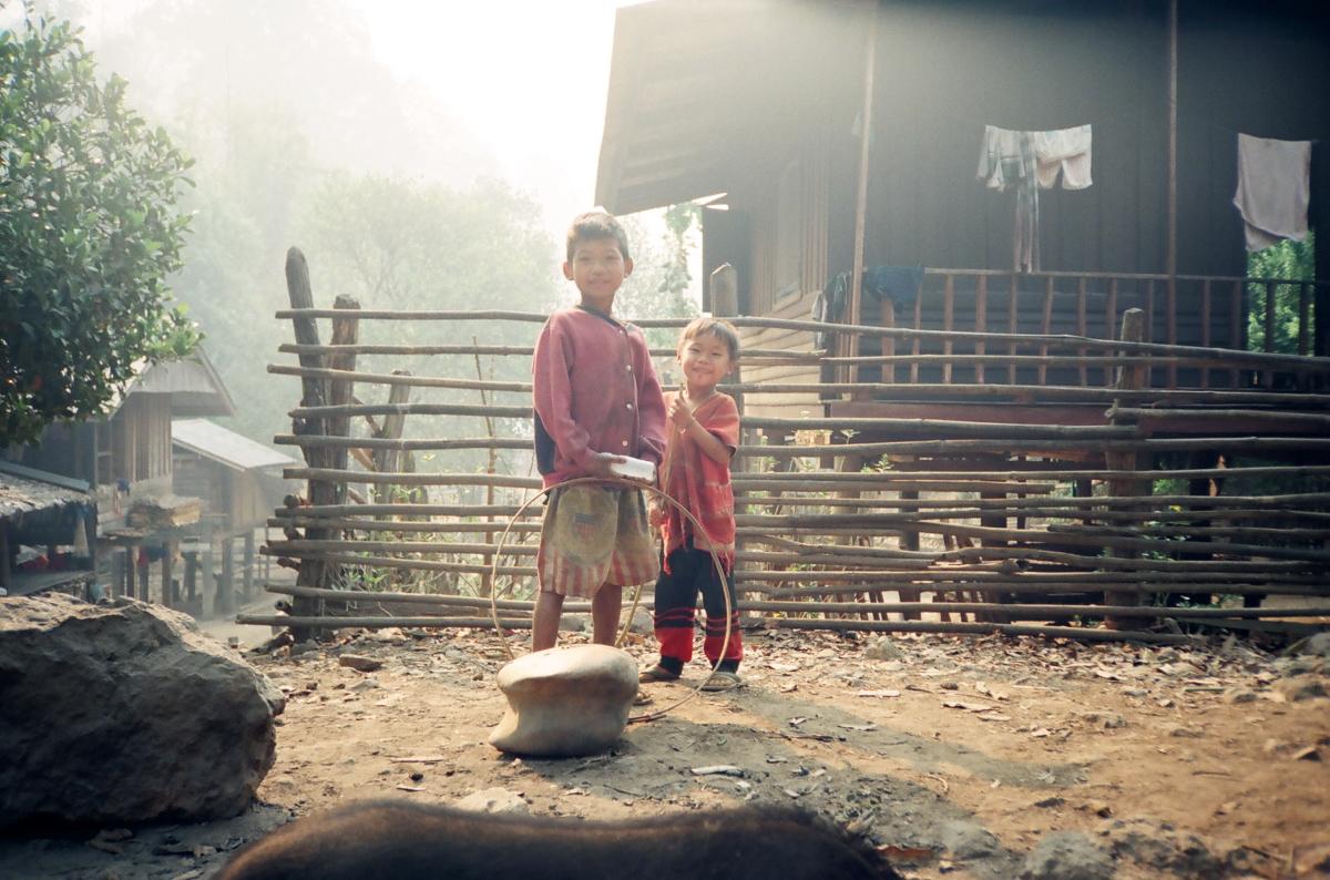 山岳少数民族の村<br>Small Village