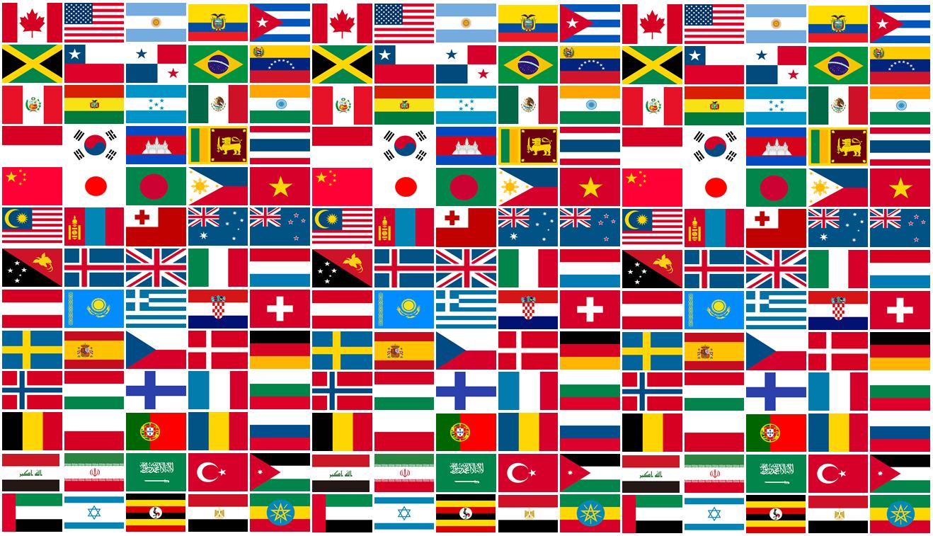 興味の喚起に効果抜群の「国旗カード」を使ってみませんか