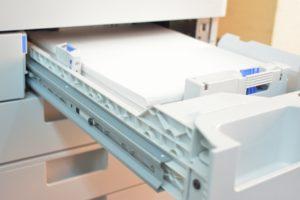 紙の無駄使いを防ぐ古典的な方法
