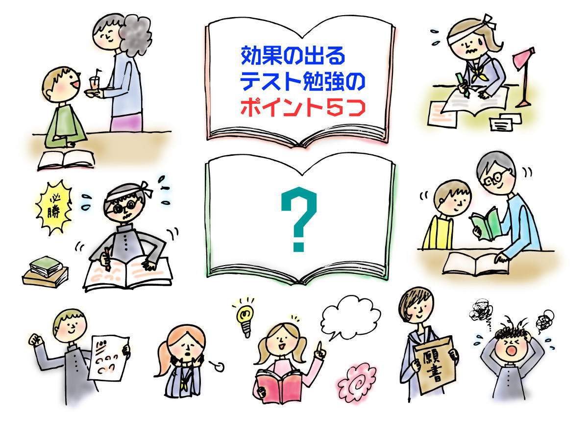 先輩から後輩に「テスト勉強のポイント」を伝授する活動〔担任セット〕